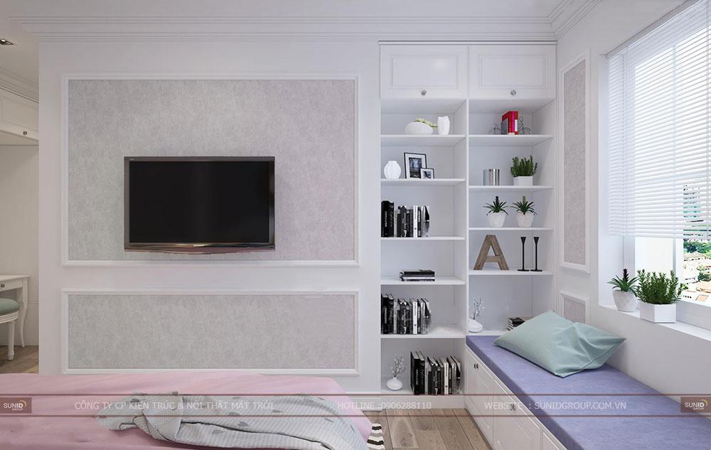 Thiết kế nội thất chung cư Tứ Hiệp Plaza Thanh Trì