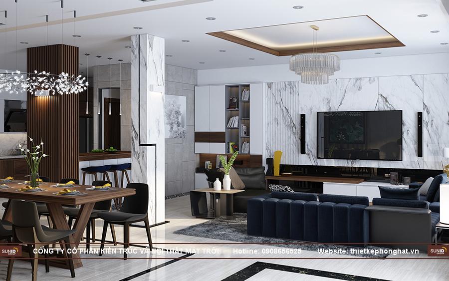 Thiết kế nội thất nhà liền kề Gelexia Riverside Tam TrinhThiết kế nội thất nhà liền kề Gelexia Riverside Tam Trinh