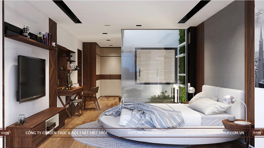 Thiết kế nội thất nhà liền kề Gelexia Riverside Tam Trinh