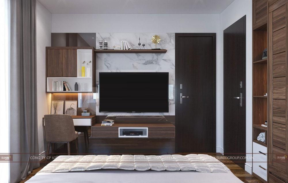 Thiết kế nội thất nhà liền kề HD Mon City Mĩ Đình