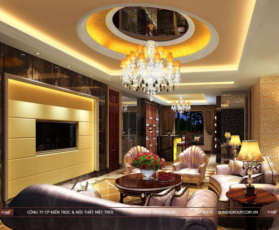 Thiết kế nội thất nhà liền kề La Casta Văn PhúThiết kế nội thất nhà liền kề La Casta Văn Phú
