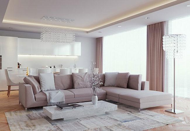kinh nghiệm chọn màu sắc nội thất