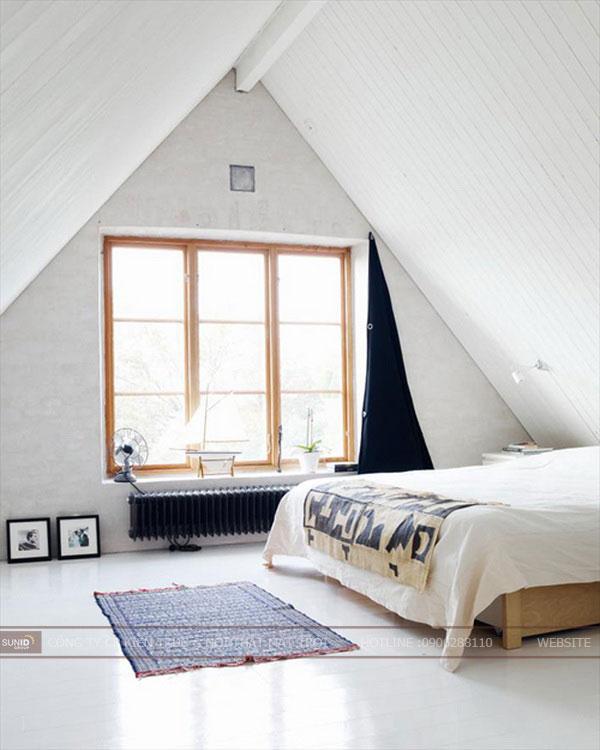 phòng ngủ tầng áp mái10