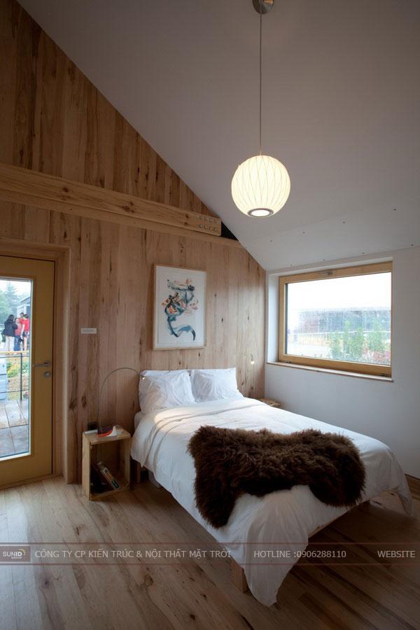 phòng ngủ tầng áp mái11