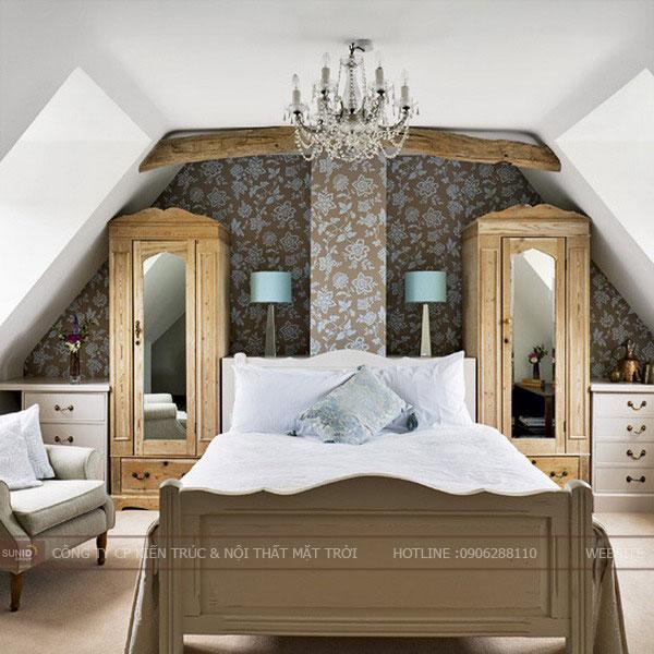 phòng ngủ tầng áp mái2