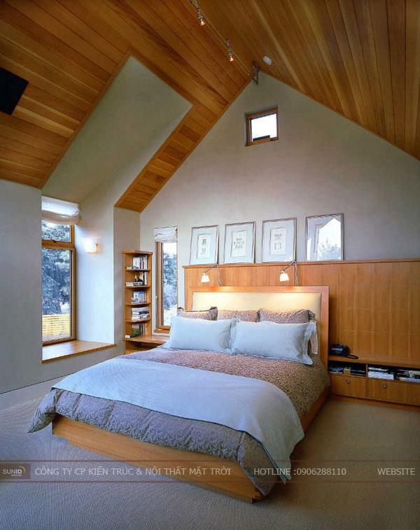 phòng ngủ tầng áp mái3