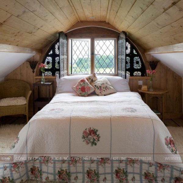 phòng ngủ tầng áp mái6