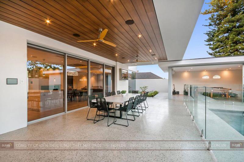 thiết kế biệt thự mini 1 tầng đẹp tại hà nội4
