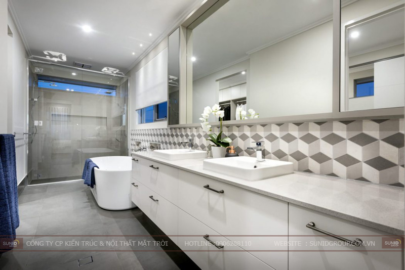 thiết kế nhà 1 tầng đẹp tại hà nội11