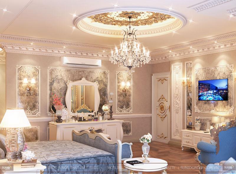 thiết kế nội thất biệt thự cổ điển hà nội1