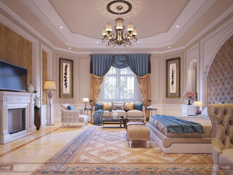 thiết kế nội thất biệt thự cổ điển hà nội18