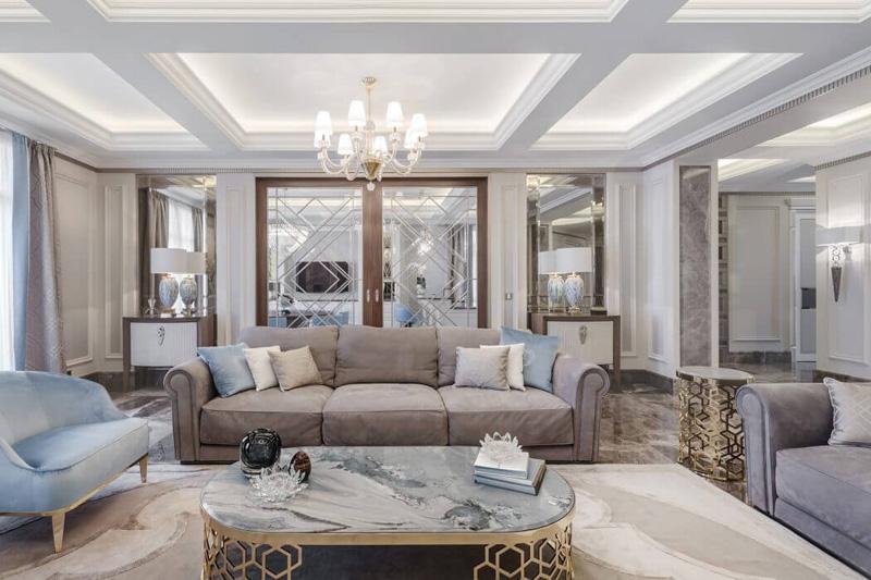 Thiết kế nội thất chung cư cao cấp Sun Square 21 Lê Đức Thọ