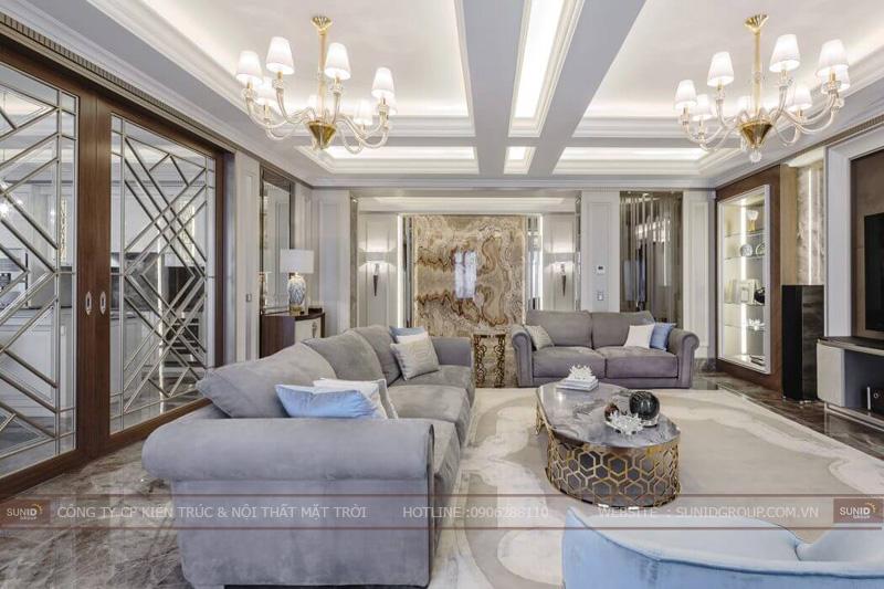 thiết kế nội thất chung cư cao cấp sun square3
