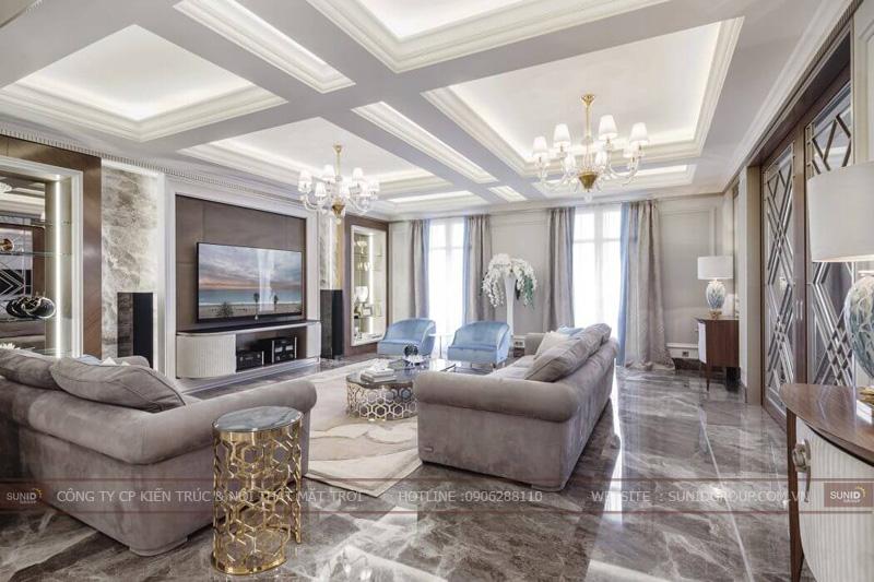 thiết kế nội thất chung cư cao cấp sun square4
