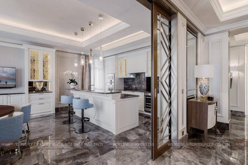 thiết kế nội thất chung cư cao cấp sun square6