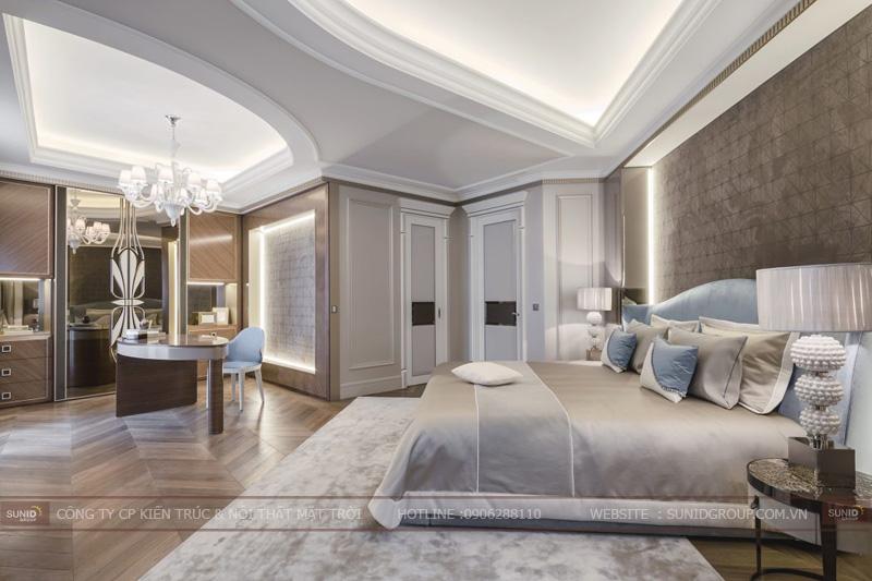 thiết kế nội thất chung cư cao cấp sun square9