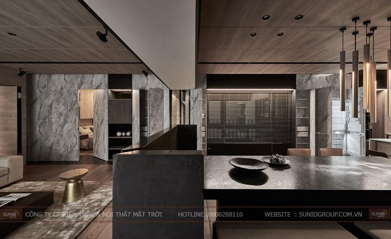 thiết kế nội thất chung cư hpc landmark 105 tố hữu 7