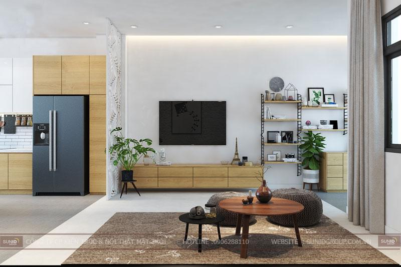 thiết kế nội thất nhà liền kề đô nghĩa dương nội1