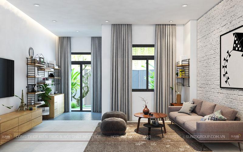 thiết kế nội thất nhà liền kề đô nghĩa dương nội9