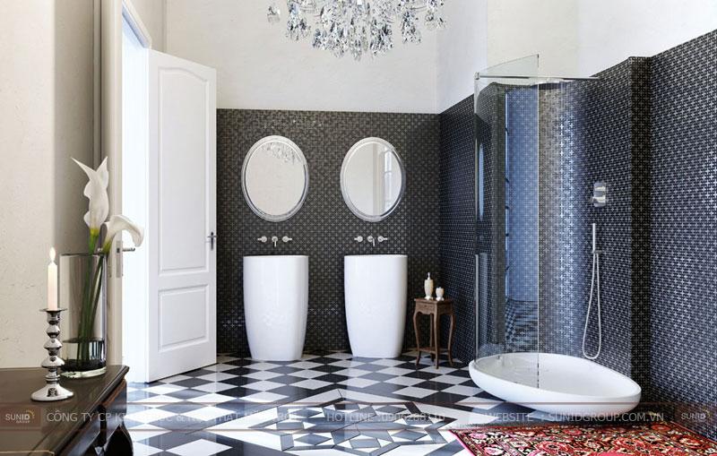 15 mẫu thiết kế phòng tắm đơn giản hiện đại15