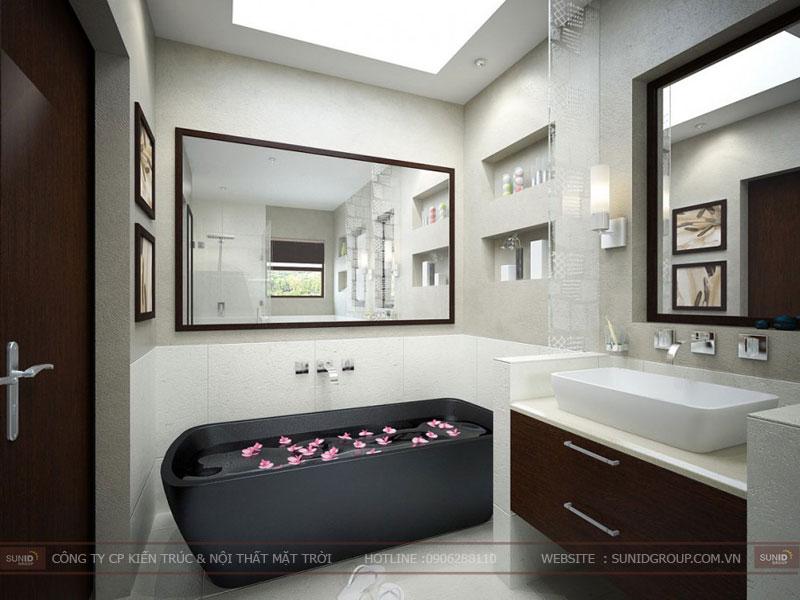 15 mẫu thiết kế phòng tắm đơn giản hiện đại4