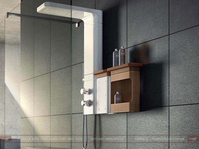 15 mẫu thiết kế phòng tắm đơn giản hiện đại5