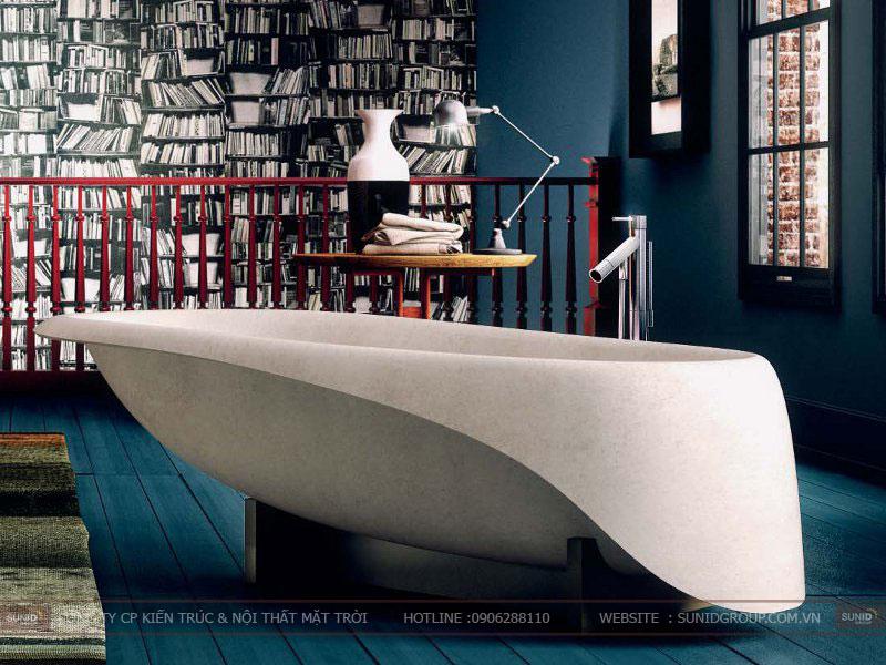 15 mẫu thiết kế phòng tắm đơn giản hiện đại8