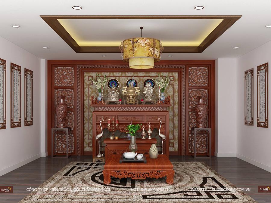 Thiết kế nội thất biệt thự Vinhomes Gardenia