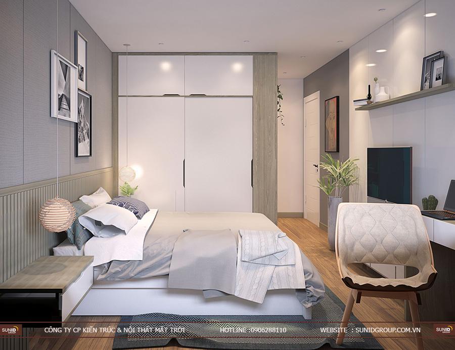 Thiết kế nội thất chung cư Goldseason 47 Nguyễn Tuân