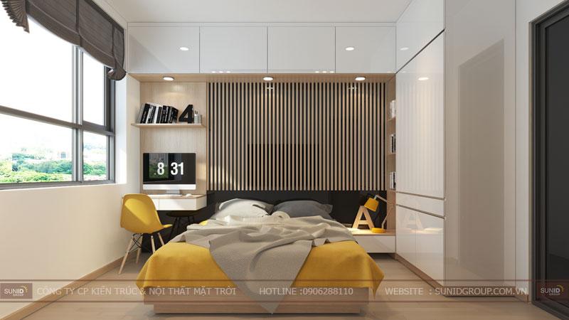 thiết kế nội thất chung cư 60m22