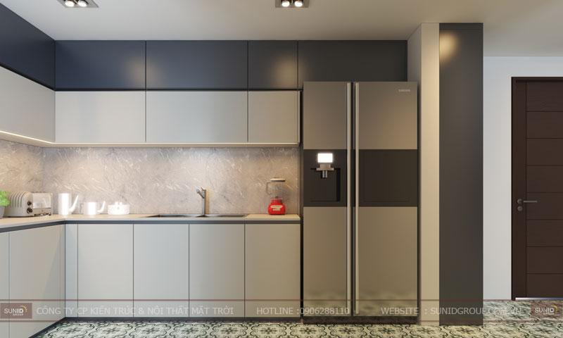thiết kế nội thất chung cư 60m23