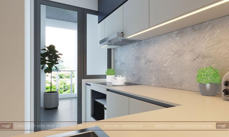 thiết kế nội thất chung cư 60m24