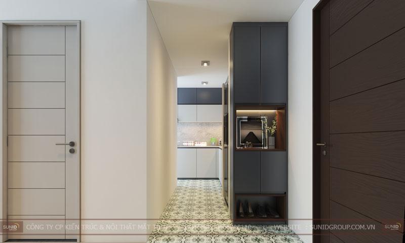 thiết kế nội thất chung cư 60m25