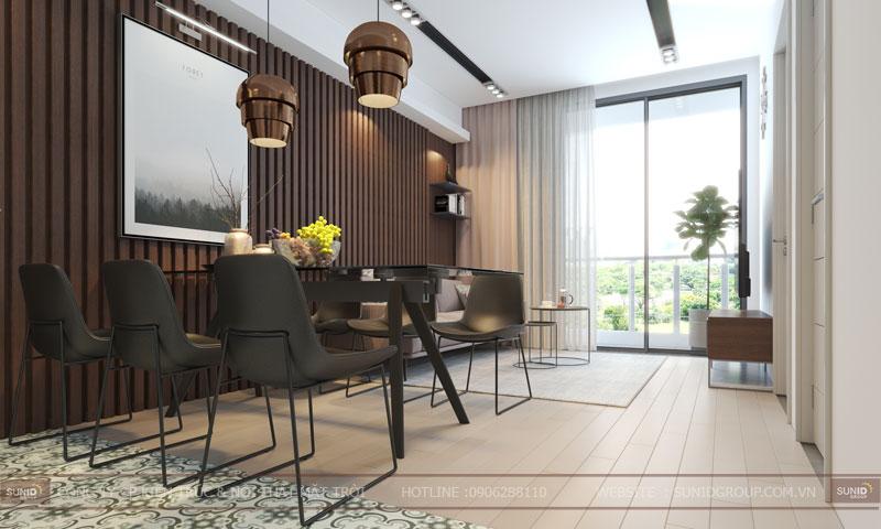 thiết kế nội thất chung cư 60m26