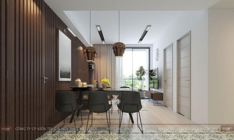 thiết kế nội thất chung cư 60m27