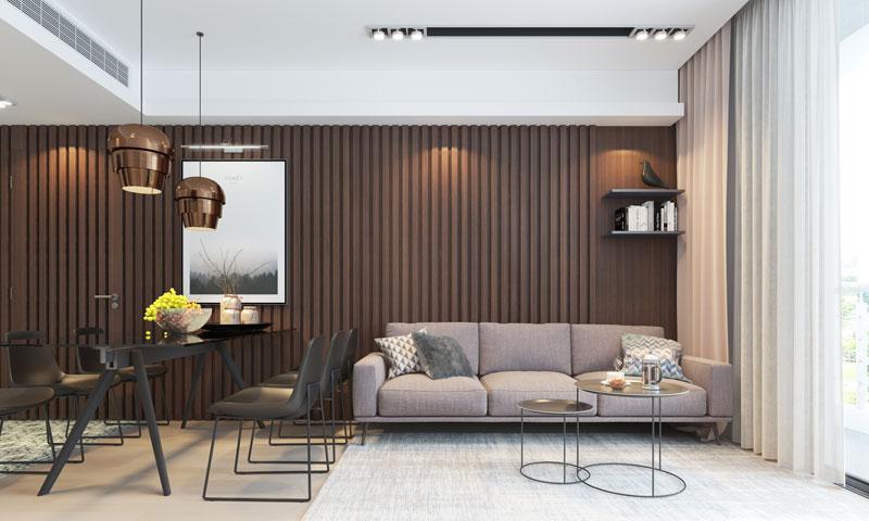 Thiết kế nội thất chung cư diện tích 60m2