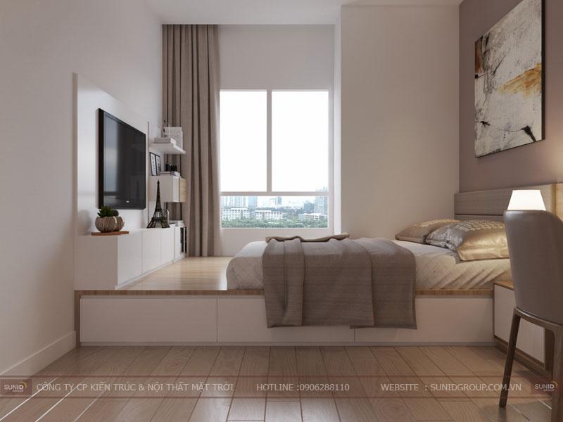 thiết kế nội thất chung cư hiện đại vincity tây mỗ 1