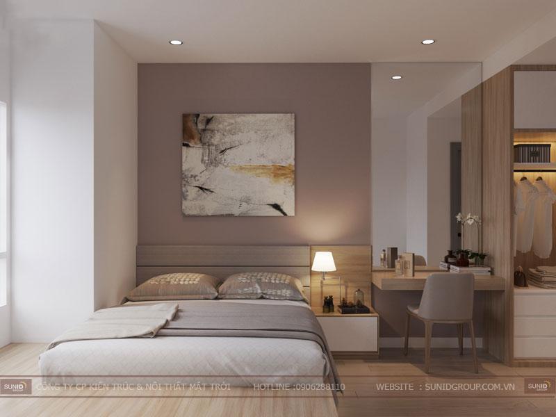 thiết kế nội thất chung cư hiện đại vincity tây mỗ 2