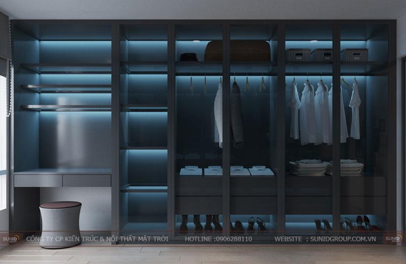 thiết kế nội thất chung cư hiện đại vincity tây mỗ 3