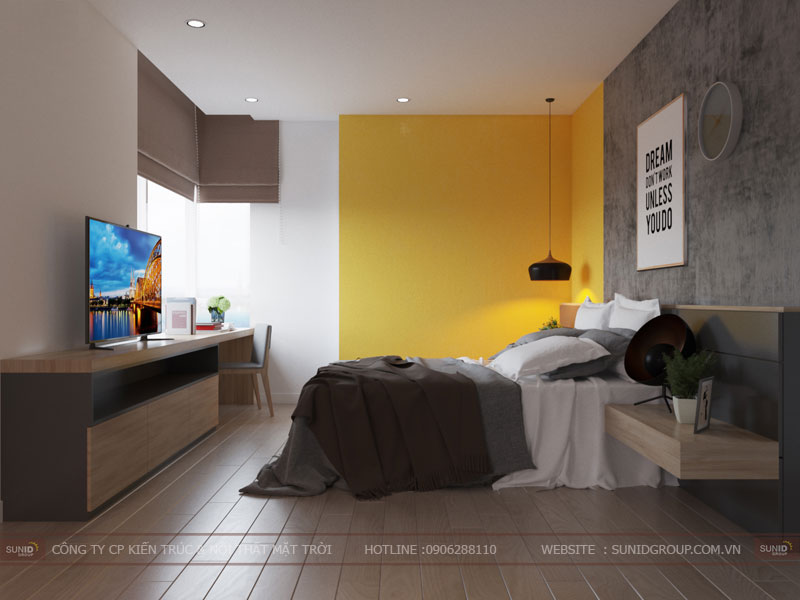 thiết kế nội thất chung cư hiện đại vincity tây mỗ 6