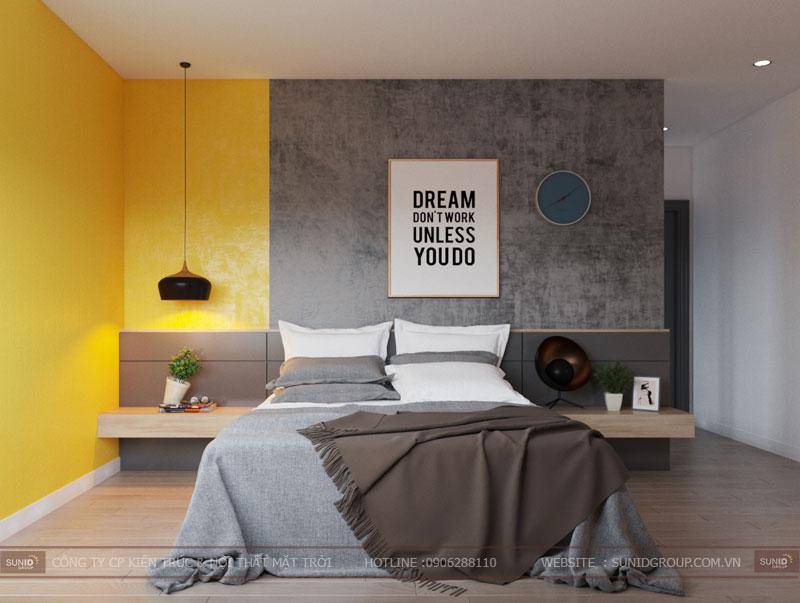 thiết kế nội thất chung cư hiện đại vincity tây mỗ 7