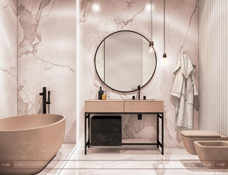 thiết kế nội thất chung cư việt đức complex hiện đại1