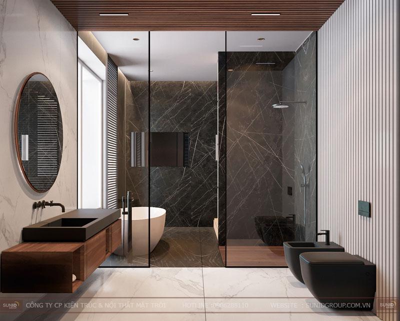 thiết kế nội thất chung cư việt đức complex hiện đại10