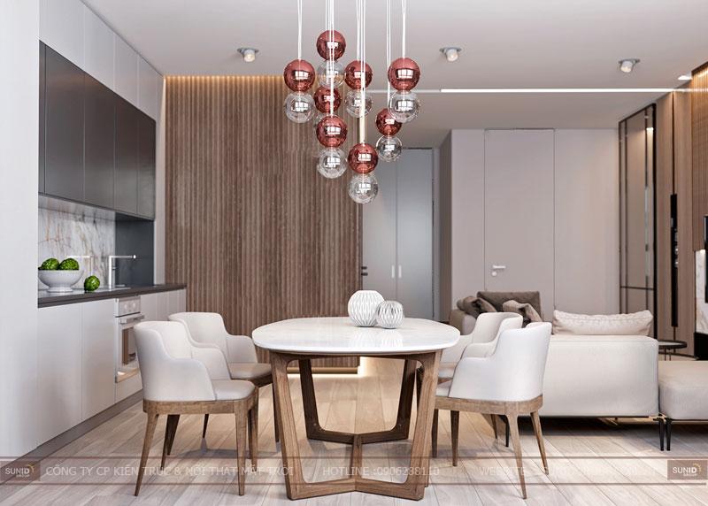 thiết kế nội thất chung cư việt đức complex hiện đại14