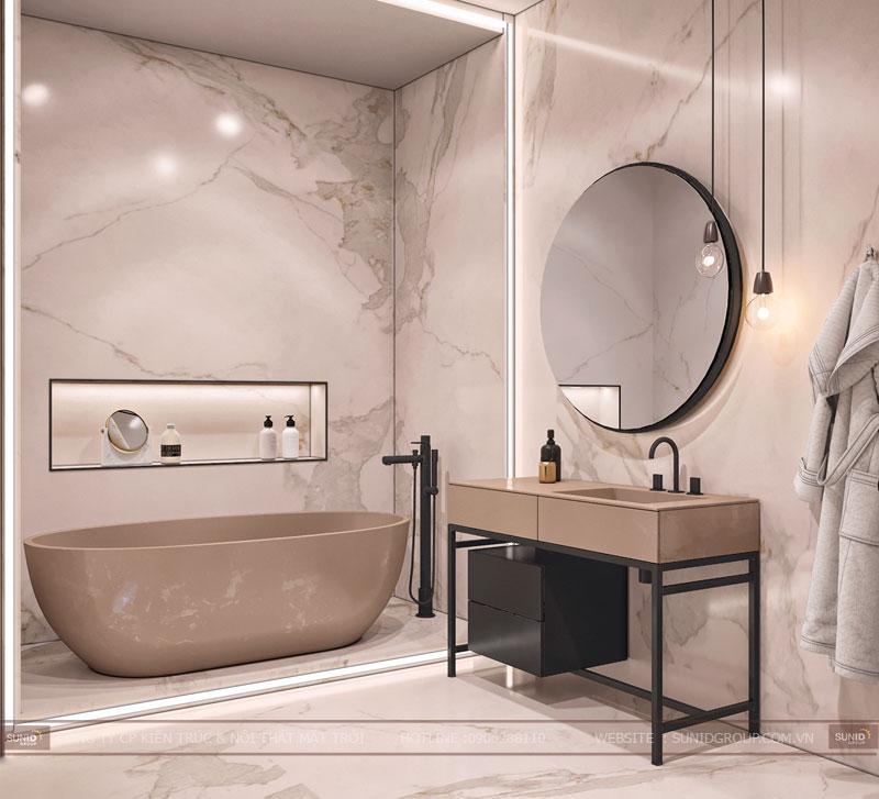 thiết kế nội thất chung cư việt đức complex hiện đại4