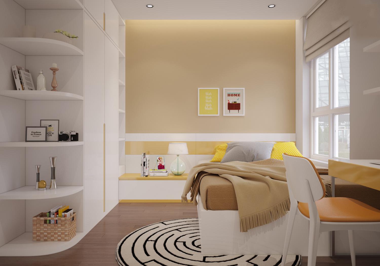 thiết kế nội thất chung cư 100m23