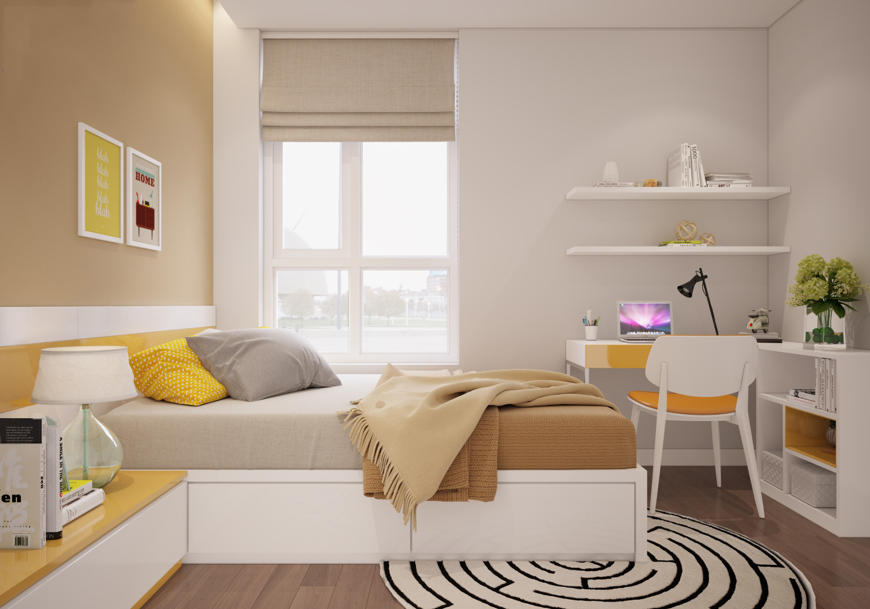 thiết kế nội thất chung cư 100m24