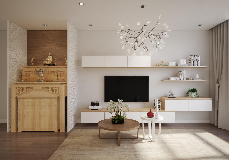 thiết kế nội thất chung cư 100m28