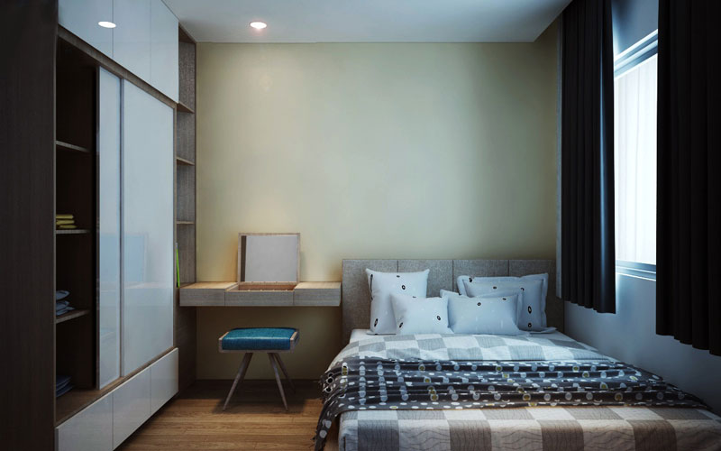 thiết kế nội thất chung cư hiện đại 75 mét vuông1