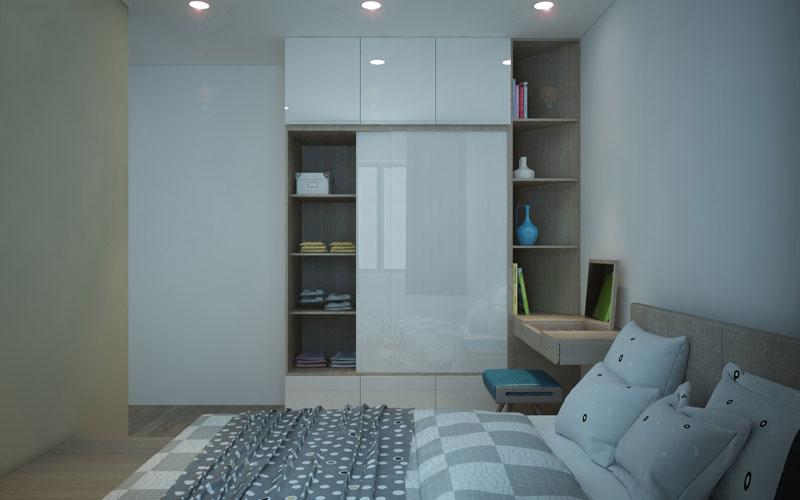 thiết kế nội thất chung cư hiện đại 75 mét vuông2